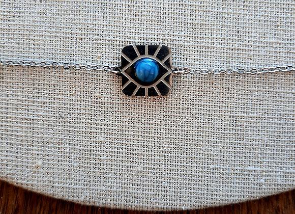 Bracelet œil bleu
