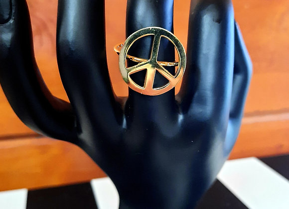 Bague Peace and Love