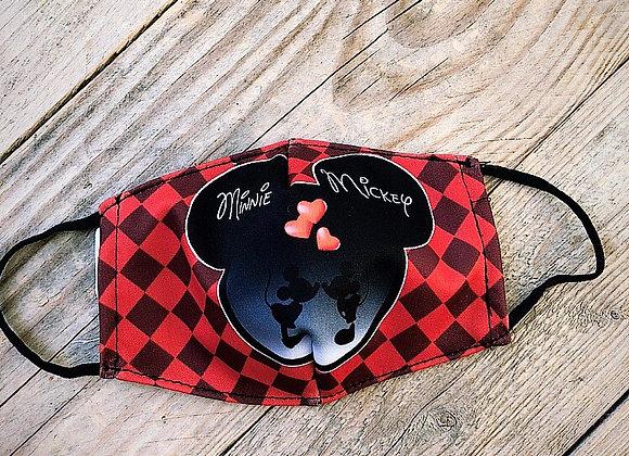Masque Minnie et Mickey
