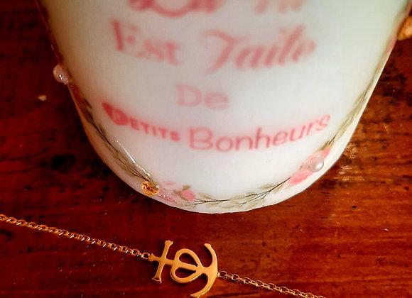 Bracelet croix de camargue
