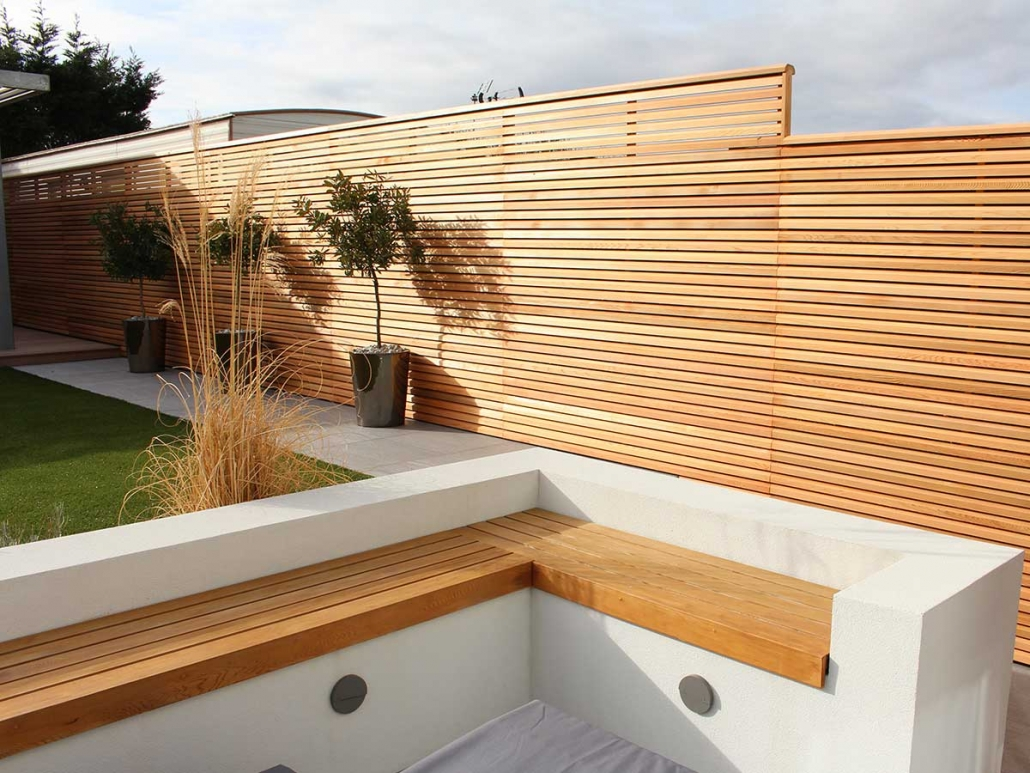Cedar Contemporary Panels