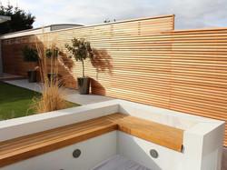 Cedar Contemporary Panels