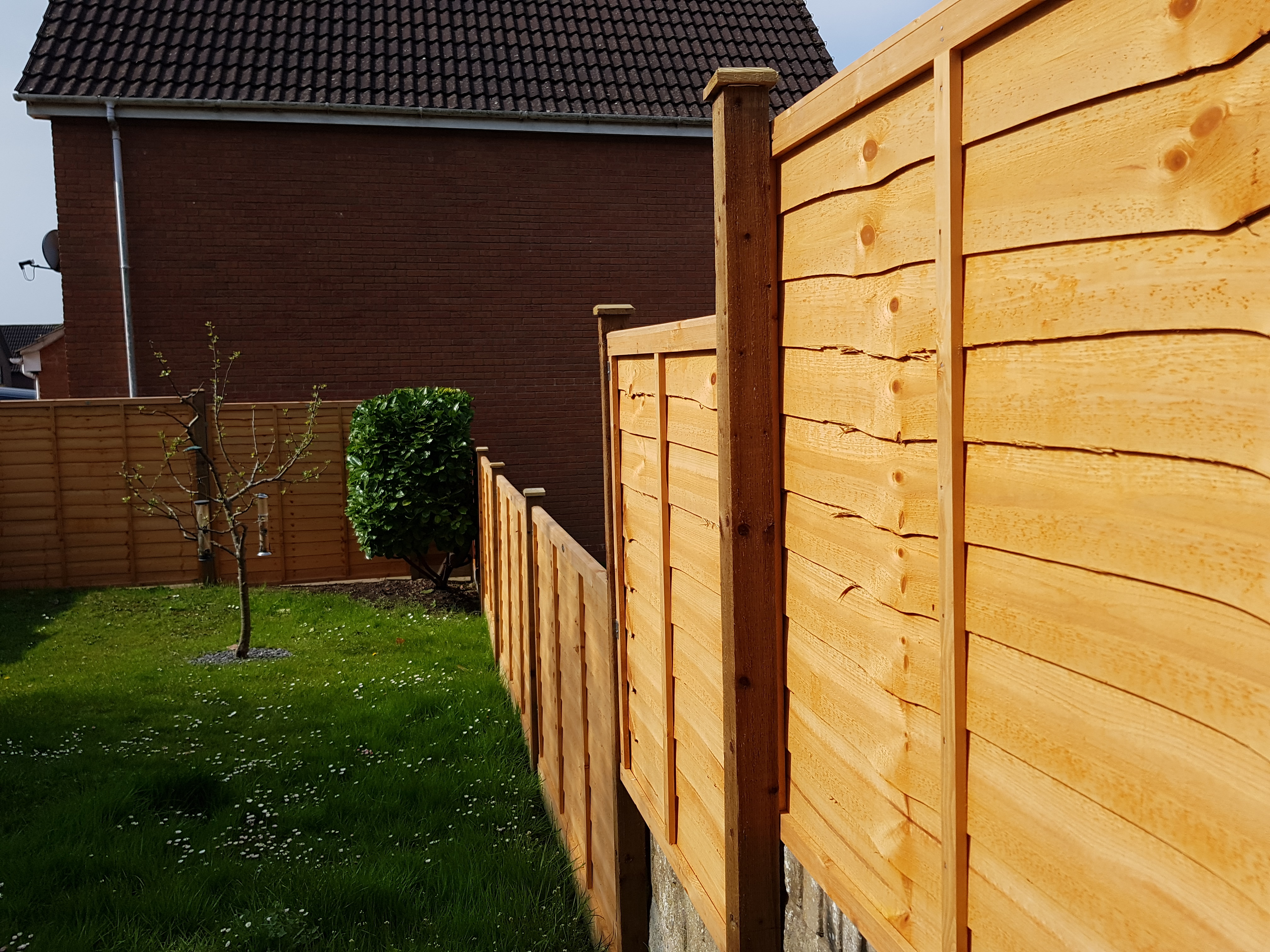 CRS Overlap Fence Panels