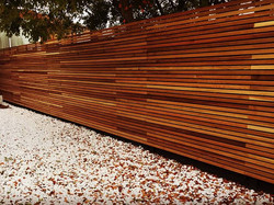Western Red Cedar Contemporary Panels