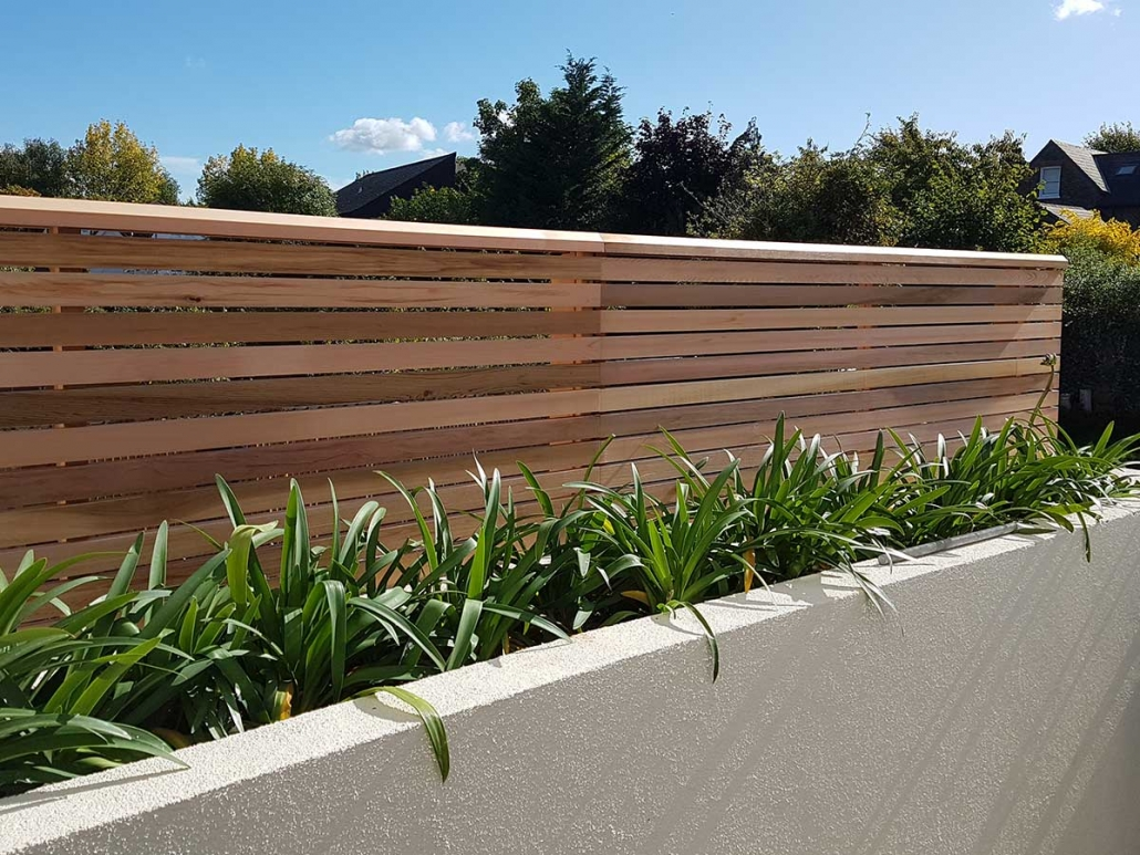 Western Red Cedar Contemporary Panels