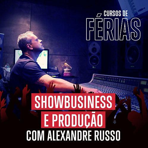 Showbusiness e produção em estúdio e ao vivo