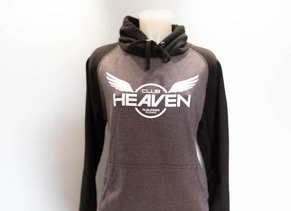Club Heaven-Contrast Hoodie