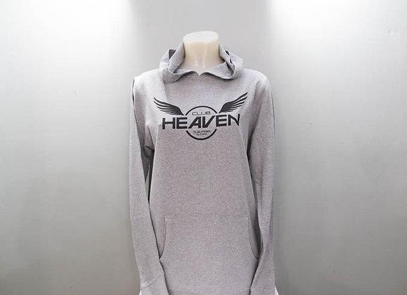 Club Heaven-Grey Hoodie
