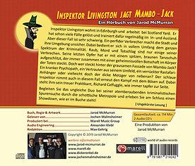 Inspektor Livingston jagt Mambo-Jack, Hörbuch, gelesen von Jochen Malmsheimer, Jarod McMurran, Schottland-Krimi, Jochen Malmsheimer, Inspektor Livingston, ZDF, Kultkrimi, Krimi, Kriminalhörspiel, Hörbuch, Hörspiel, Hörbuchsprecher