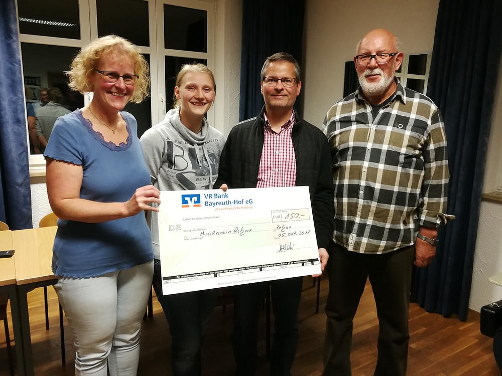 Von links: Marion Klier, Tabea Georgi, Harald Welzer und Norbert Morgenstern