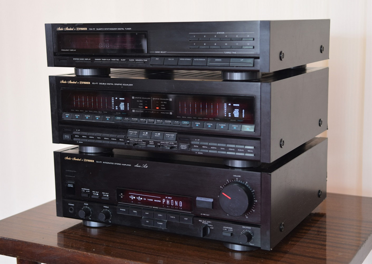 Fisher P7 stereo system