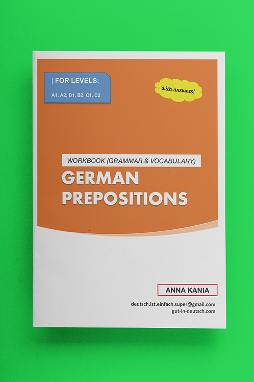 Prepositions (with answers)