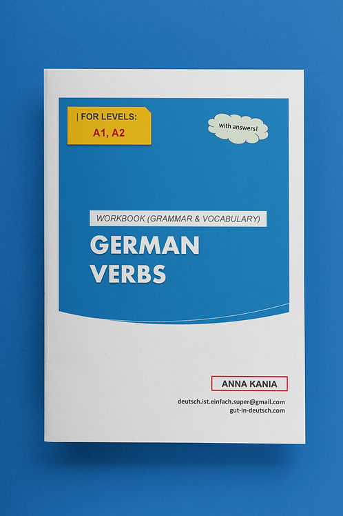 German Verb Level A (workbook + answers)