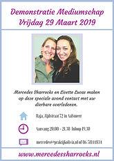Mercedes Sharrocks en Lisette Lucas