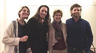 Mediums Mercedes Sharrocks, Lisette Lucas, Yvonne van Bezu en Wilco van Leeuwen