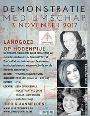 Demonstratie Mediumschap Kerk Op Hodenpijl met Lisette Lucas, Laura Hertel en Diana Mulock Houwer