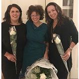 Rosita Belkadi, Janneke Leber en Lisette Lucas bij Zwave Weesp