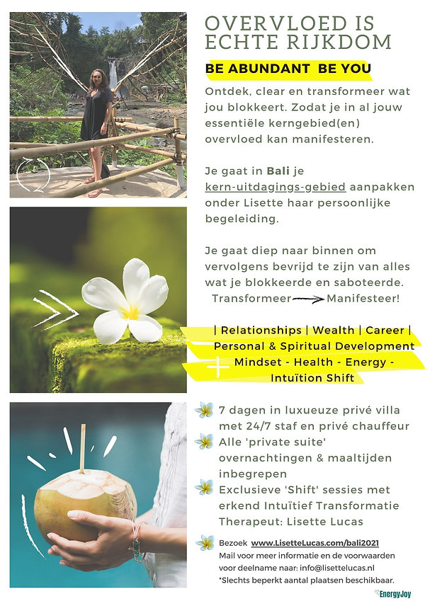 Bali Abundance Retreat 2021 Lisette Luca