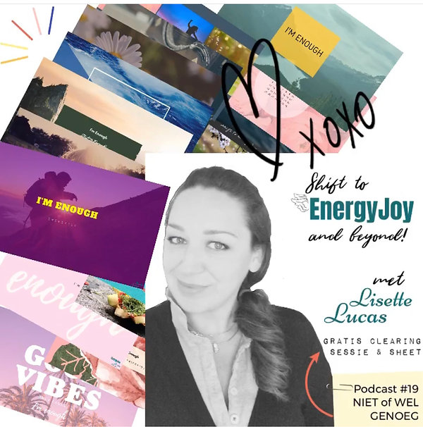 I'm enough Sheets EnergyJoy Lisette Luca