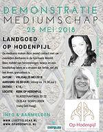 Kerk Landgoed Op Hodenpijl met Lisette Lucas en Diana Stoet