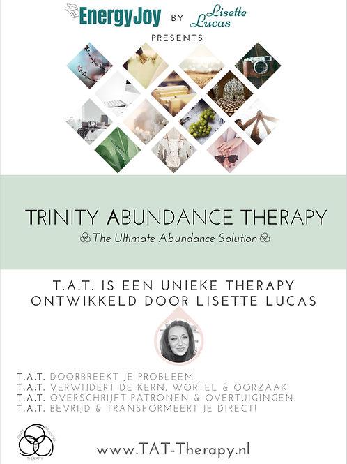 Double Trinity Abundance Therapy sessie