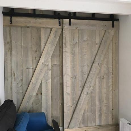 Maatwerk deuren Project KJW Bouw ~ Voorburg