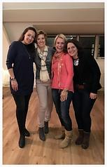 Mediums Lisette Lucas, Yvonne van Bezu, Annika Vos, Annemarie Raaijmakers