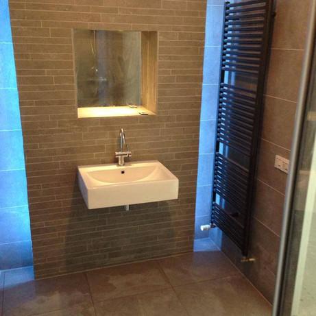 Project Badkamer / Toilet renovatie