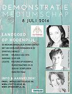 Pastorie Op Hodenpijl met Mercedes Sharrocks, Lisette Lucas en Yvonne van Bezu