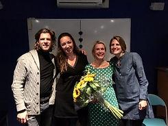 Mediums Wilco van Leeuwen, Lisette Lucas, Annka Vos en Mercedes Sharrocks
