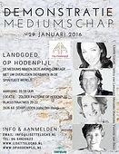 Demonstrate Mediumschap Op Hodenpijl met mediums Lisette Lucas, Wilco van Leeuwen, Mercedes Sharrocks en Yvonne van Bezu