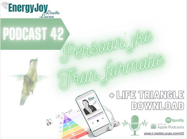 Podcast 42. Persoonlijke Transformatie E