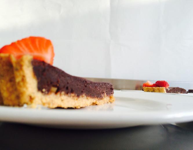 Talton Lodge chocolate torte