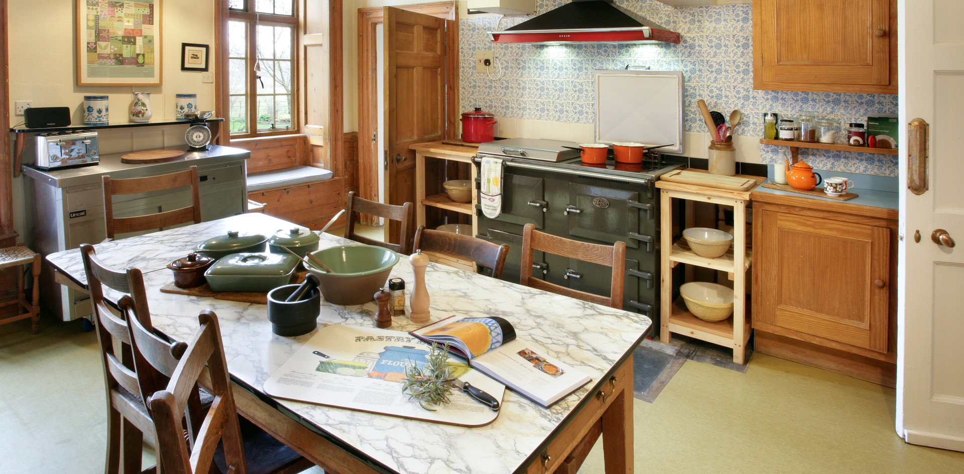 Talton House kitchen