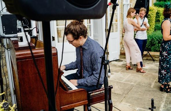Music on the Talton House terrace