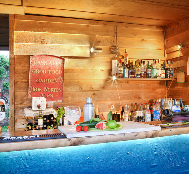 The pavilion bar