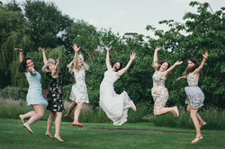 Michelle  Jonathan maids a leaping