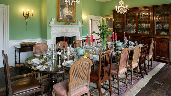 Talton House Dining room