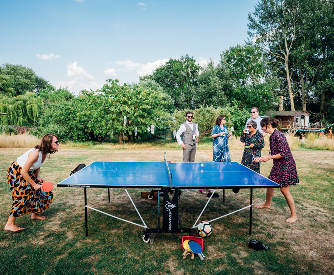 Table tennis - don't mess