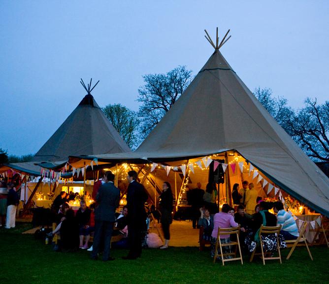 Giant Tipi's  night Talton Lodge   500kb
