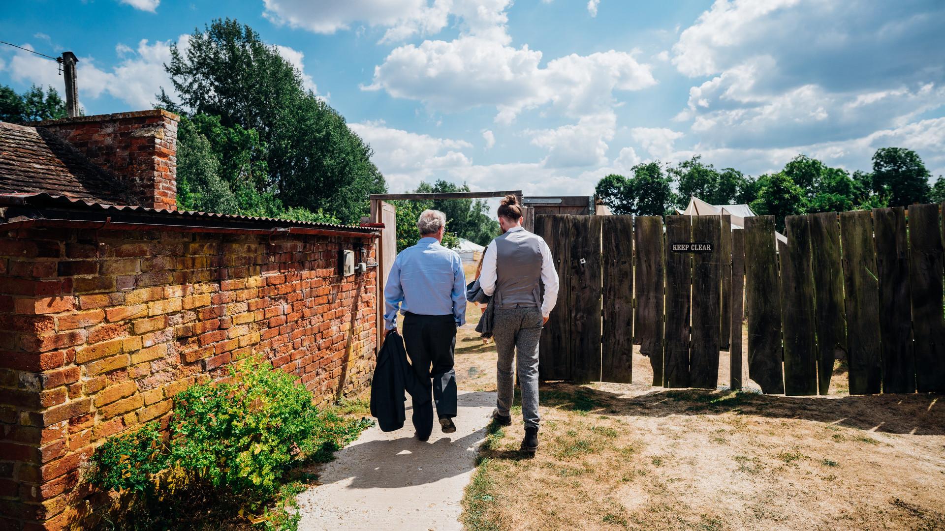 Entering the (secret) walled garden