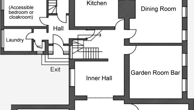 Talton House Ground Floor plan