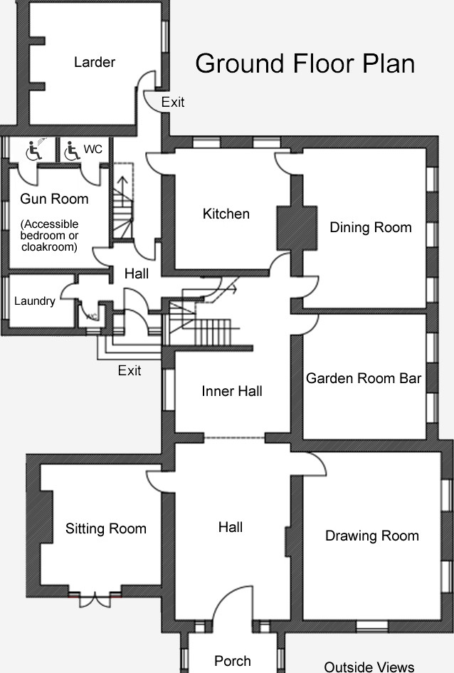 Talton House Ground Floor plan