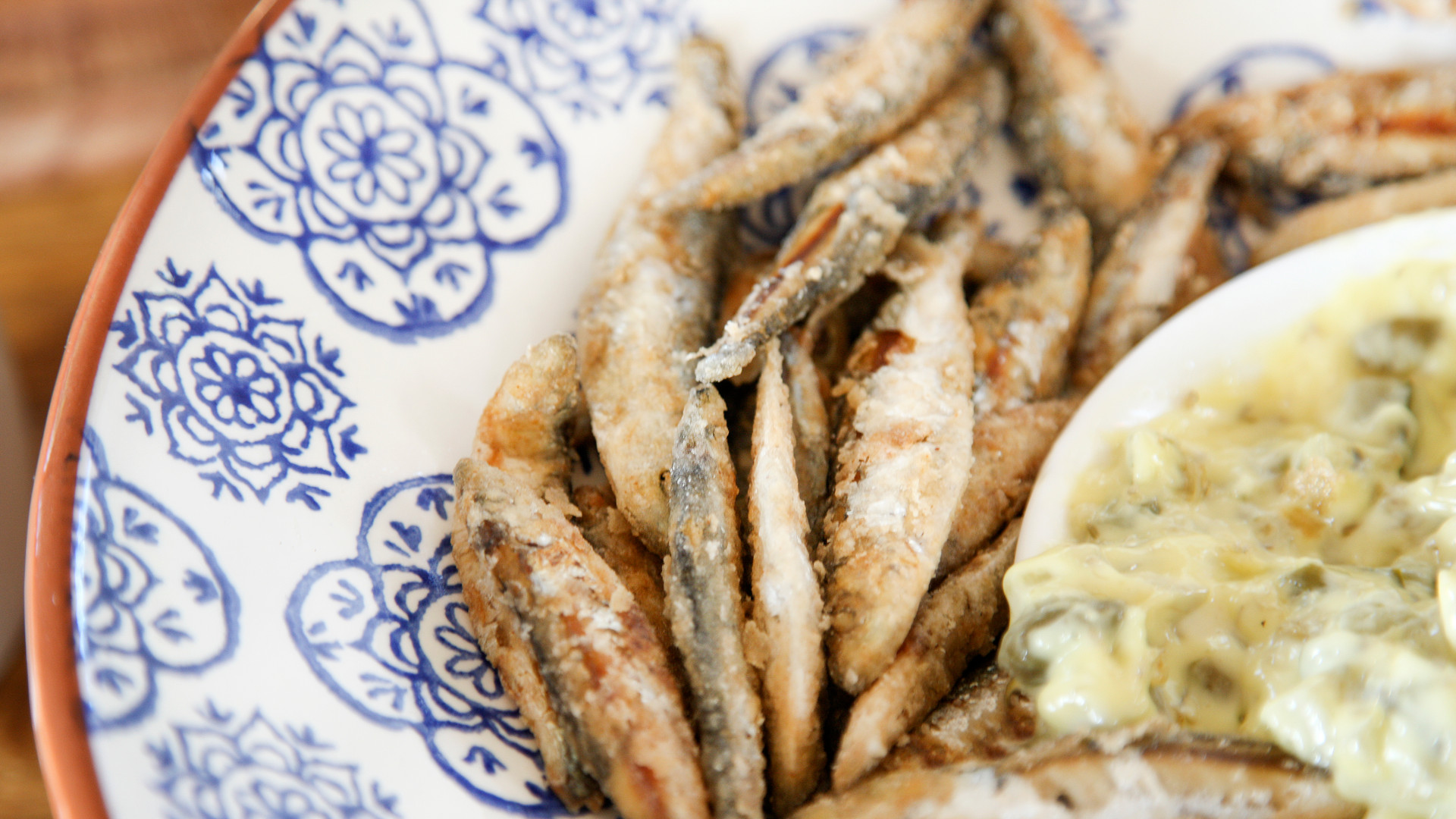 Talton House and Talton Lodge fried sardines with soul