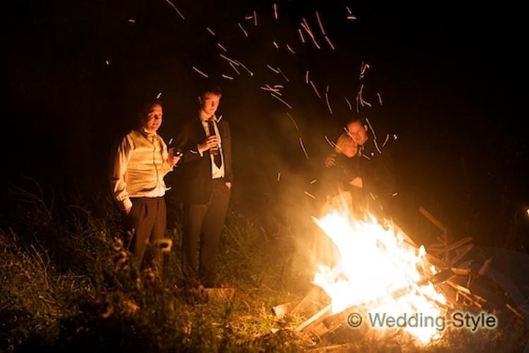 Bonfire late night