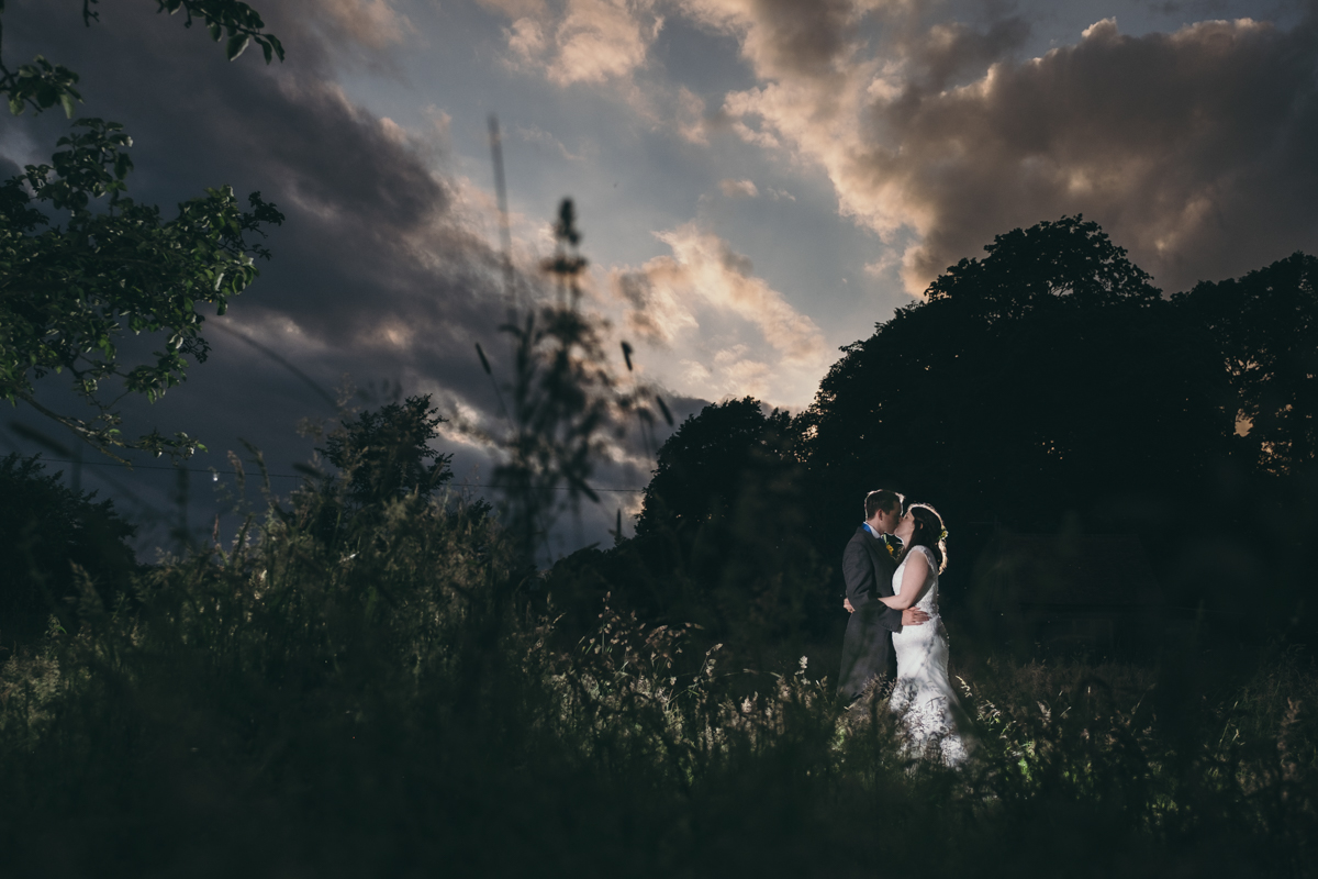 Michelle  Jonathan moody sky shot