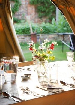 Tables on Feast Night