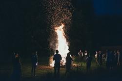 Michelle  Jonathan bonfire