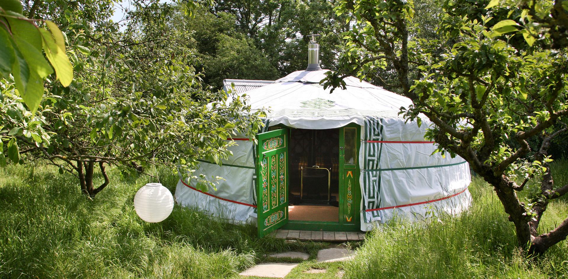 The small yurt