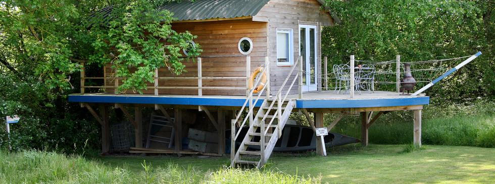 The tree boat-house